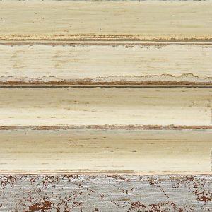 U3 Bianco anticato + foglia argento