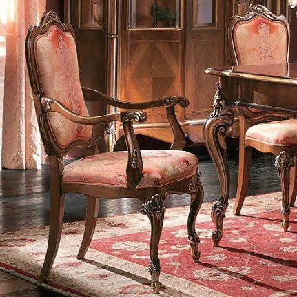 Luxusná stolička s opierkami LU0239S