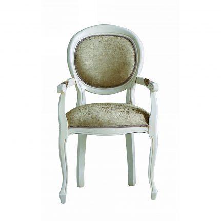 Čalúnená stolička s opierkami 101-C