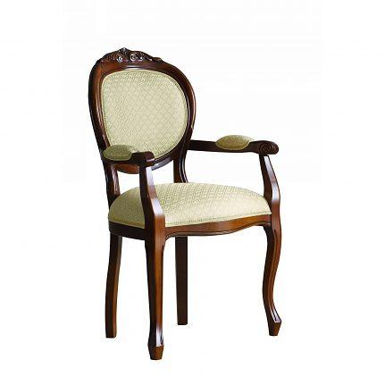 Čalúnená stolička s opierkami 102-C