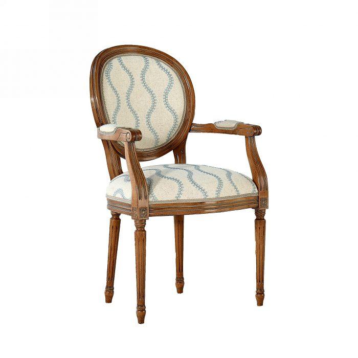 ed0a792231b3 Čalúnená stolička s opierkami 119-C