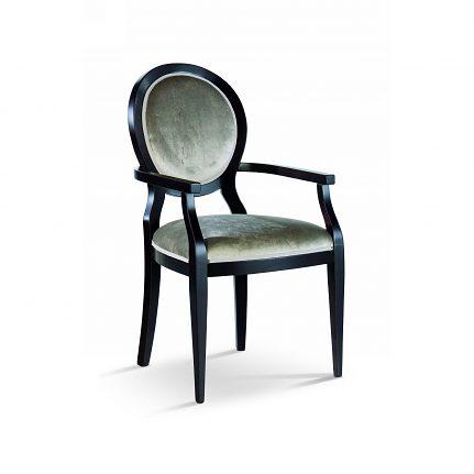 Čalúnená stolička s opierkami 1007-C