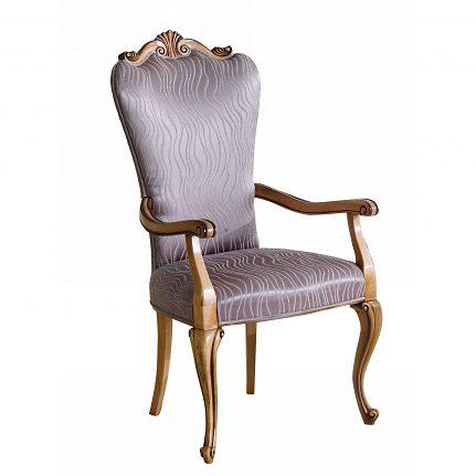 Čalúnená stolička s opierkami 1042-C