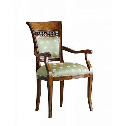 Čalúnená stolička s opierkami 1033-C