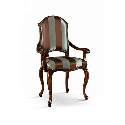 Čalúnená stolička s opierkami 1018-C