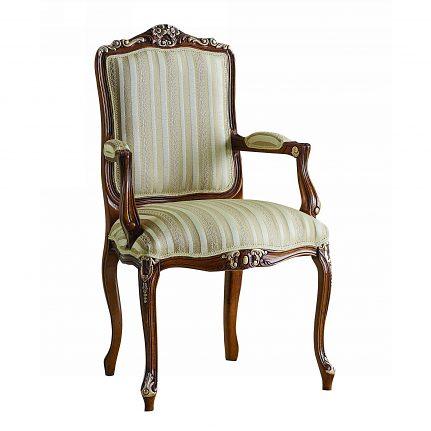 Čalúnená stolička s opierkami 1047-C