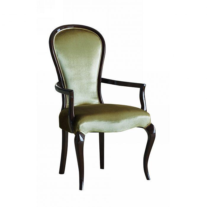 7b3ac929660d Čalúnená stolička s opierkami 1049-C