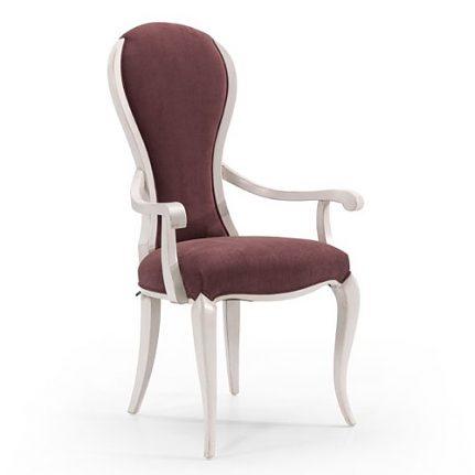 Čalúnená stolička s opierkami AA0417A