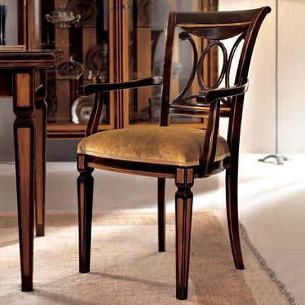 Stolička s opierkami AA0166A