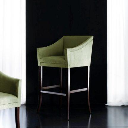 Čalúnená barová stolička AA0407B