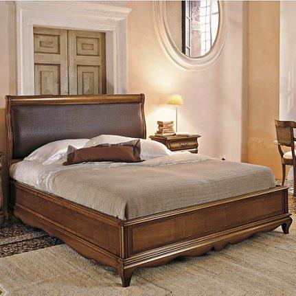 Manželská posteľ s čalúnením Md430
