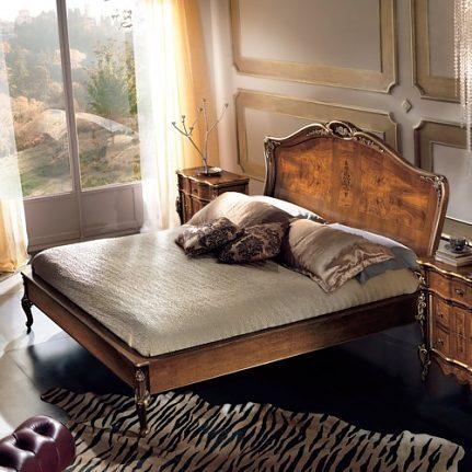 Luxusná manželská posteľ LU0216F