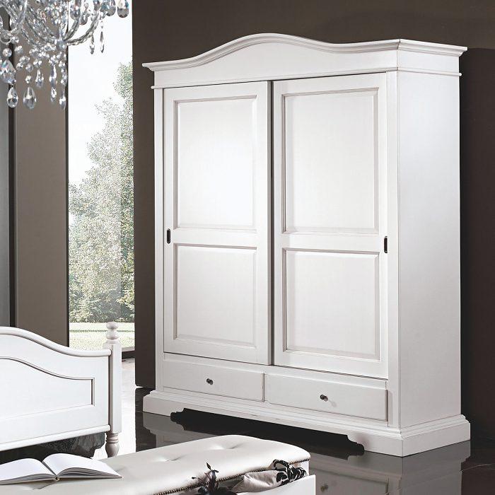51e6a9ca6556 2-dverová šatníková skriňa IM398 (DM445) s posuvnými dverami a 2 zásuvkami  v spodnej časti. Podobne ako ostatné výrobky