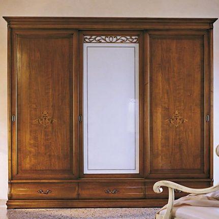 Šatníková skriňa s posuvnými dverami Md436
