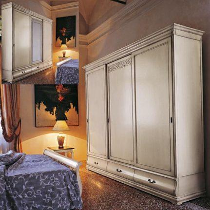 Šatníková skriňa s posuvnými dverami Md476