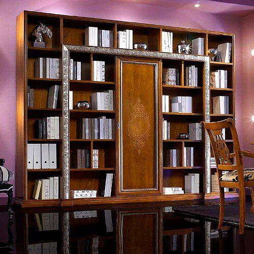 c2d059b65d85 Luxusná knižnica s barom Vi702
