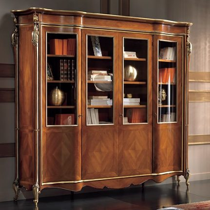 Luxusná knižnica LU0236N