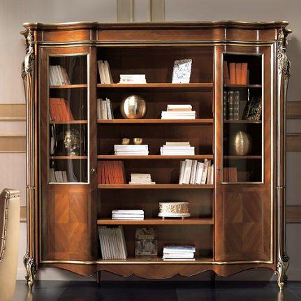 Luxusná otvorená knižnica LU0237N