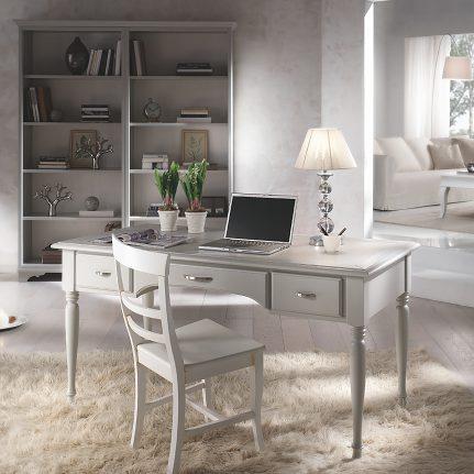 Písací stôl s tvarovanými nohami LM880T
