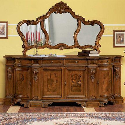 Barokové zrkadlo VEN2638