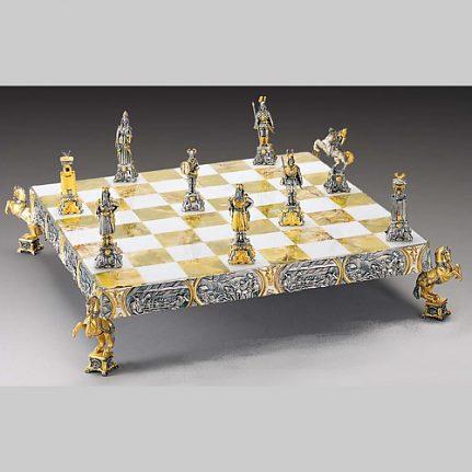 Komplet šachovnica so šachovými figúrkami K817CS