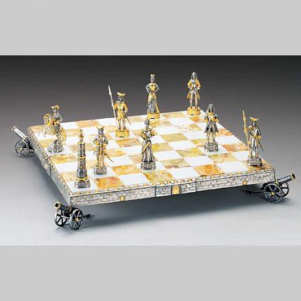 Komplet šachovnica so šachovými figúrkami K818CS