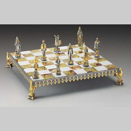 Komplet šachovnica so šachovými figúrkami K820CS