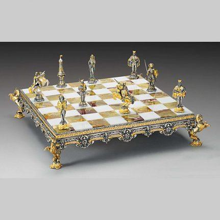 Komplet šachovnica so šachovými figúrkami K821CS