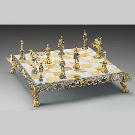 Komplet šachovnica so šachovými figúrkami K823CS