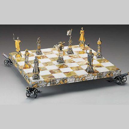 Komplet šachovnica so šachovými figúrkami K824CS