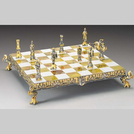 Komplet šachovnica so šachovými figúrkami K826CS