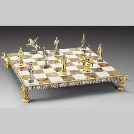 Komplet šachovnica so šachovými figúrkami K827CS