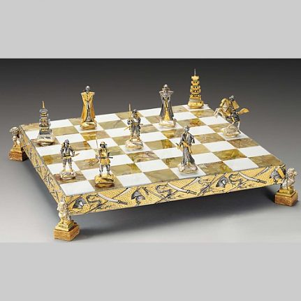 Komplet šachovnica so šachovými figúrkami K828CS