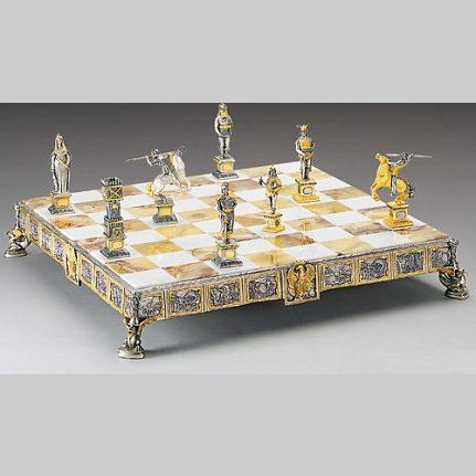 Komplet šachovnica so šachovými figúrkami K830CS