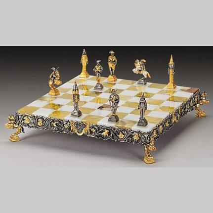 Komplet šachovnica so šachovými figúrkami K809CS