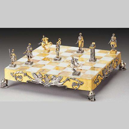 Komplet šachovnica so šachovými figúrkami K811CS