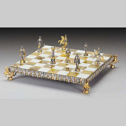 Komplet šachovnica so šachovými figúrkami K802CS