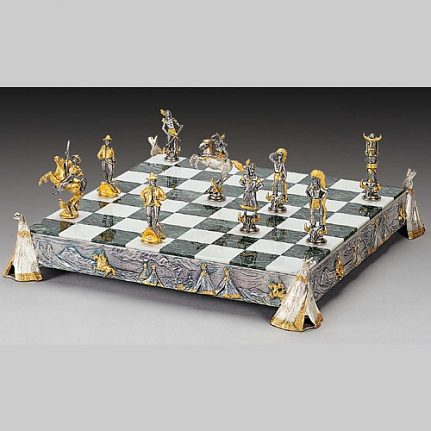 Komplet šachovnica so šachovými figúrkami K804CS