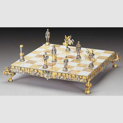 Komplet šachovnica so šachovými figúrkami K801CS