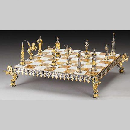 Komplet šachovnica so šachovými figúrkami K814CS