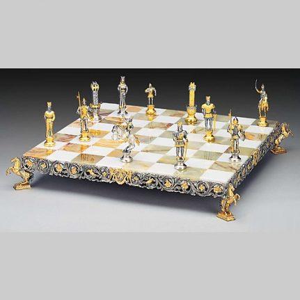 Komplet šachovnica so šachovými figúrkami K815CS