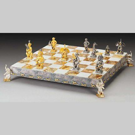 Komplet šachovnica so šachovými figúrkami K812CS