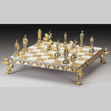 Komplet šachovnica so šachovými figúrkami K813CS
