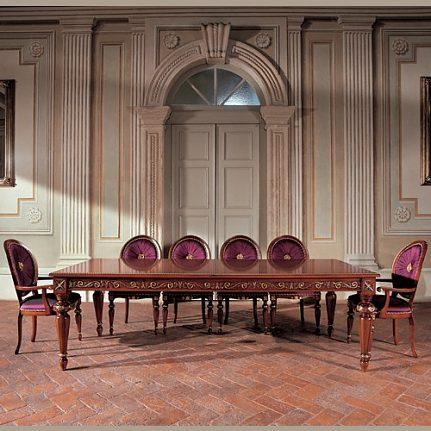 Jedálenský stôl BK4005/T orech