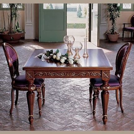 Jedálenský stôl BK4003/T orech