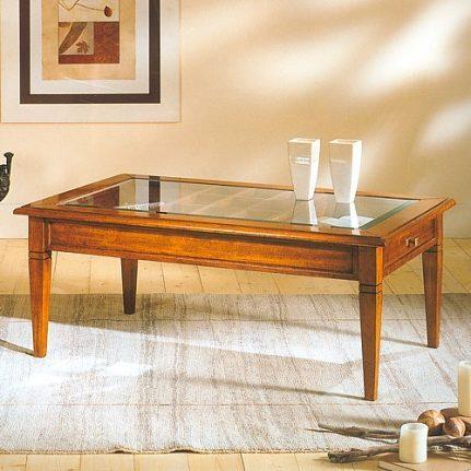 Konferenčný stolík so sklom AGH789