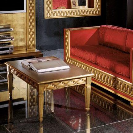 Zlatý konferenčný stolík BK1020SW/T