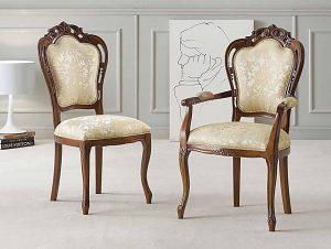 Stoličky sú nádherné, kráľovské