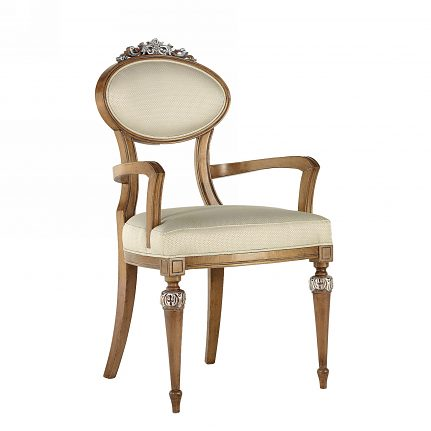 Čalúnená stolička s opierkami 1069-C