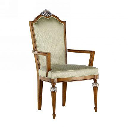 Čalúnená stolička s opierkami 1072-C